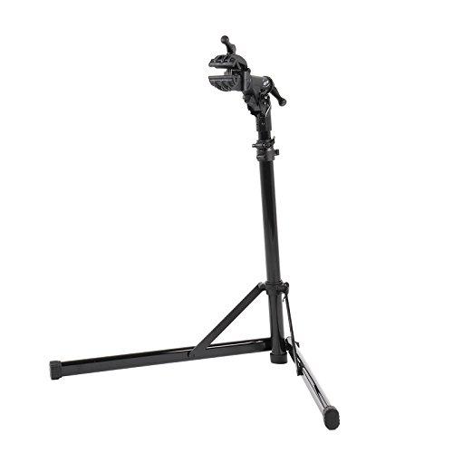 CONTEC Fahrrad Montageständer eBike Rock Steady, Traglast: ca. 30 kg, Klemme 360° rotierbar, (H/B/T) ca. 100x104x82 cm (Aufgebaut)*