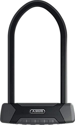 ABUS Bügelschloss Granit XPlus 540 + EaZy KF-Halterung - Fahrradschloss mit starkem Parabolbügel - 230 mm Bügelhöhe - ABUS-Sicherheitslevel 15 - Schwarz*