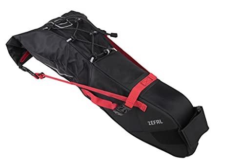 Zéfal Unisex– Erwachsene Adventure R11 Satteltasche, schwarz, 11 L