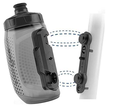 Fidlock Bottle 450 u. Bike Base Magnetischer Fahrrad Flaschenhalter Fahrrad Trinkflasche Fahrrad mit Halterung Getränkehalter Fahrrad Getränkehalter Trinkflaschenhalter Fahrrad Trinkflaschenhalterung