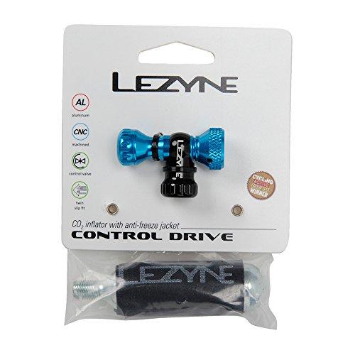 Lezyne CO2 Pumpe Control Drive CNC rot-glänzend 16g, 1-C2-CTRLDR-V111 Minipumpe