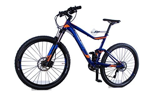 trelixx Allround Fahrradwandhalterung | Acrylglas | platzsparende Fahrradaufbewahrung | großartiges Design | leichte Montage | perfekt geeignet für viele verschiedene Radtypen*