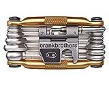 Crankbrothers Multifunktionswerkzeug 19, Gold, CBM19