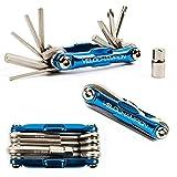 VeloChampion Premium-Qualität MLT10 Fahrrad-Multitool - 10-in-1-Multifunktions-Radfahr-Wartungswerkzeug - tragbar, zuverlässig, langlebig und einfach zu bedienen