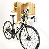 CARACHOME Fahrrad Wandhalterung,platzsparende Fahrradhalterung,Wandhalterung, platzsparend, perfekte Wandhalterung für Ihre Wohnung