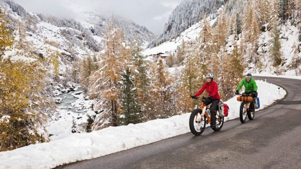 Vaude Winter Bikepacking