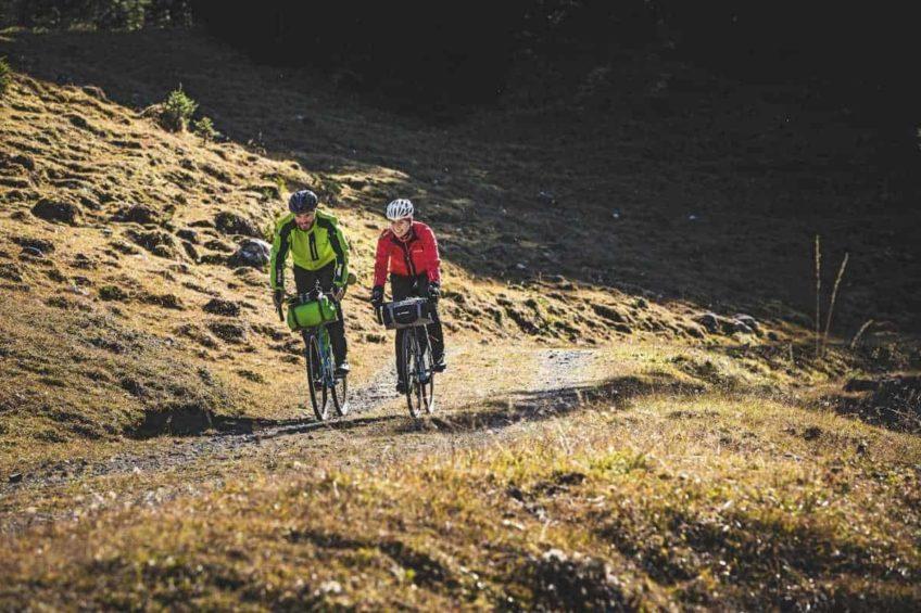Bikepacking in den Bergen