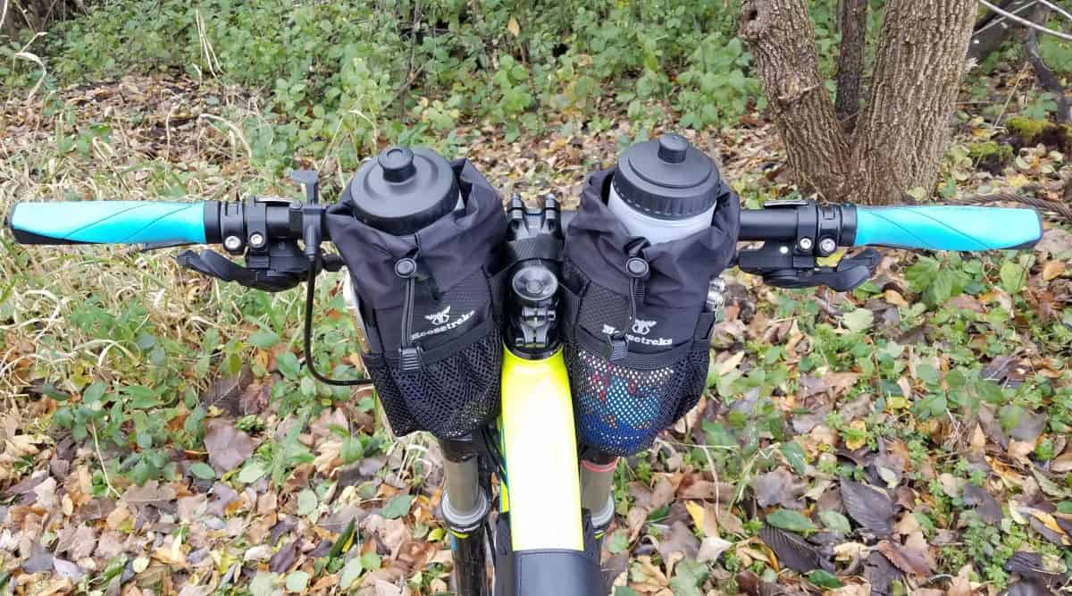 Bikepacking Stem Bags von Moosetreks