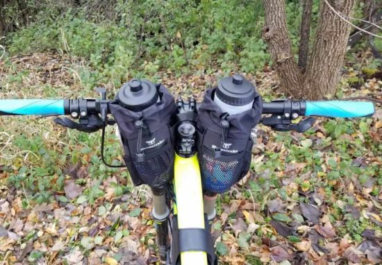Bikepacking Stem Bags von Moosetreks