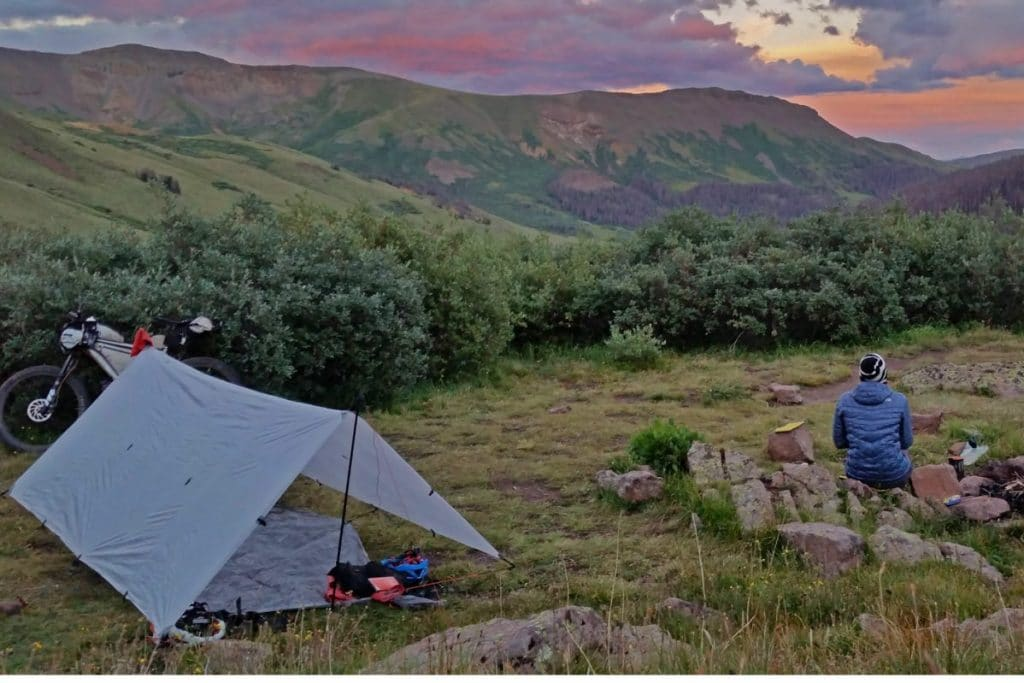 Overnighter mit Tarp Tent