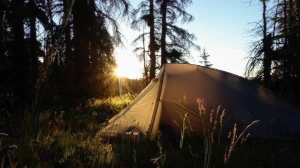 Overnighter im Zelt