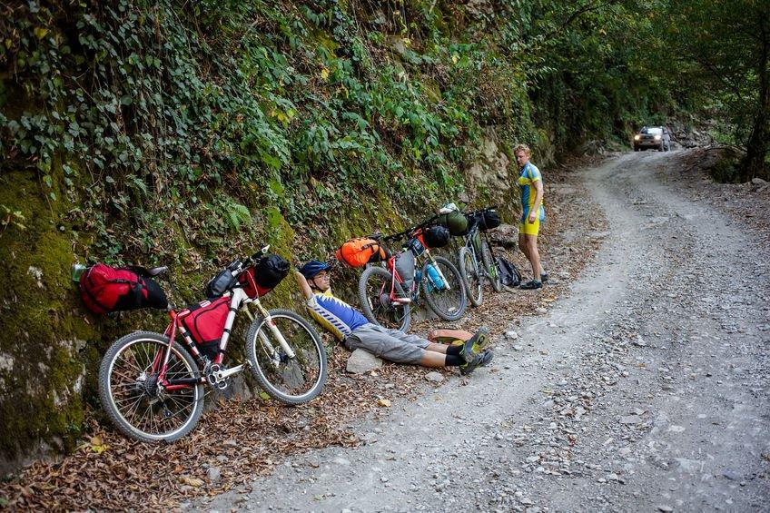 Sommer Bikepacking Pause