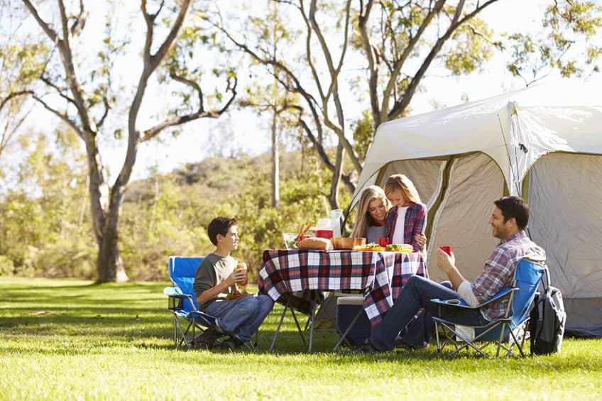 Camping - Urlaub auf dem Campingplatz