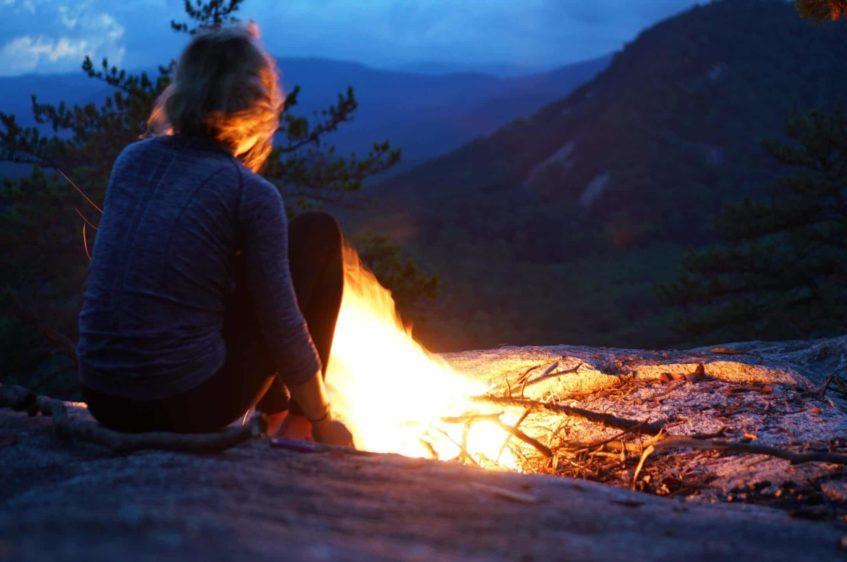 Bikepacking Campfire