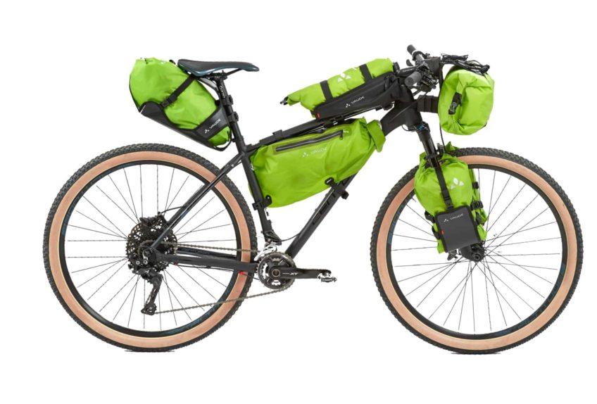 Bikepacking-Taschen Setup