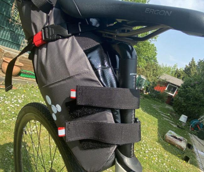 Bikepacking-Arschrakete von Geosmina
