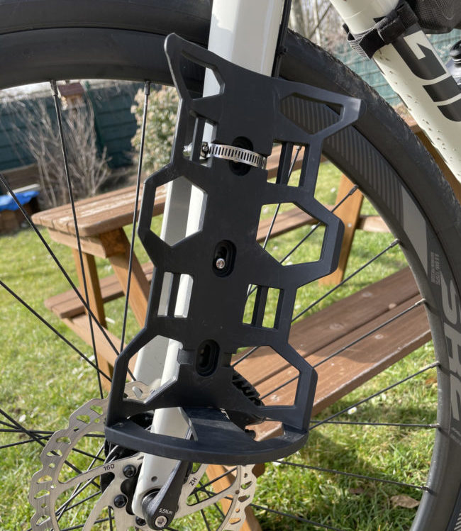 Test Bikepacking Cargo Cage - Geosmina
