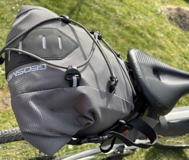 Geosmina Bikepacking-Tasche Large Saddle Bag