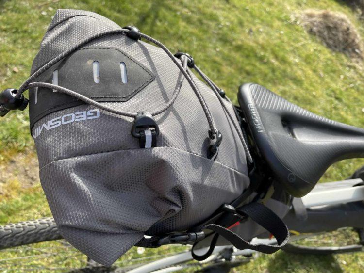 Geosmina Bikepacking-Tasche Large Saddle Bag