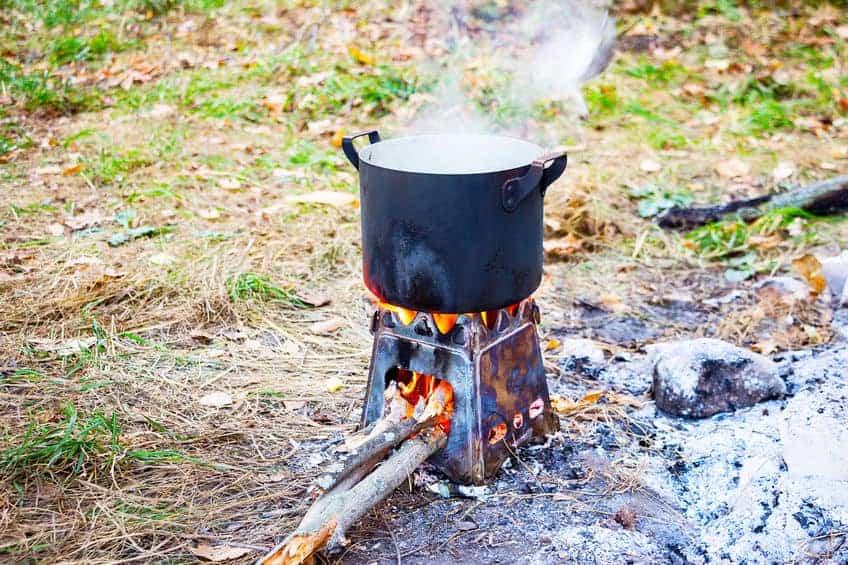 Holzkocher