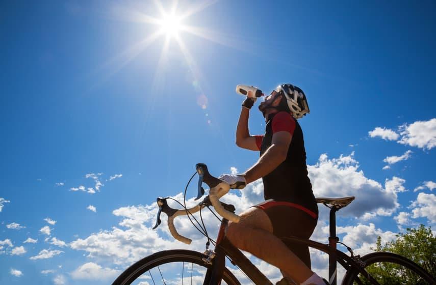 trinken beim radsport